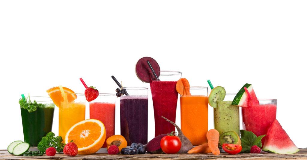 Fruchtsäfte Frisch ohne Industriezucker